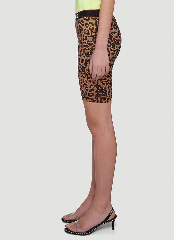VETEMENTS Leopard Cycling Shorts 3