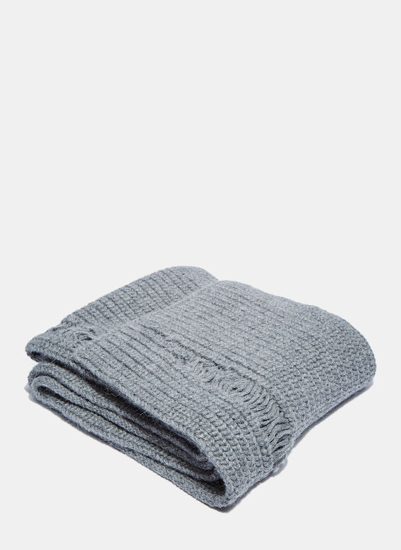J.W. Anderson Long Laddered Knit Scarf
