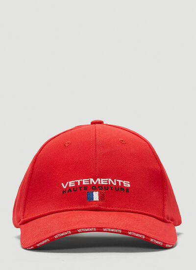 Vetements Haute Couture Baseball Cap