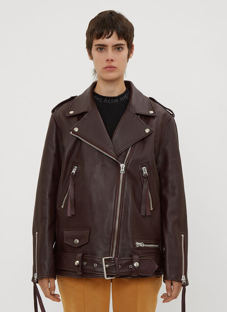 Acne Studios Oversized Biker Jacket
