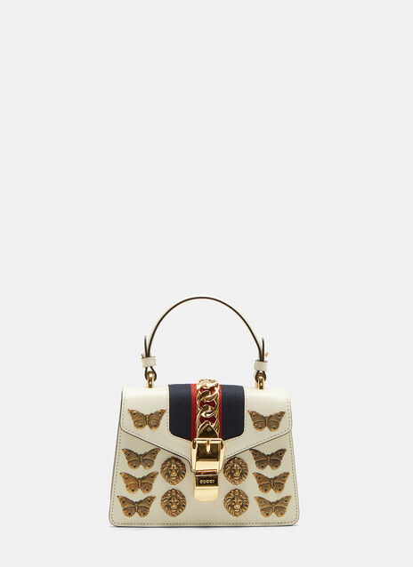 Gucci Mini Sylvie Insect Shoulder Bag