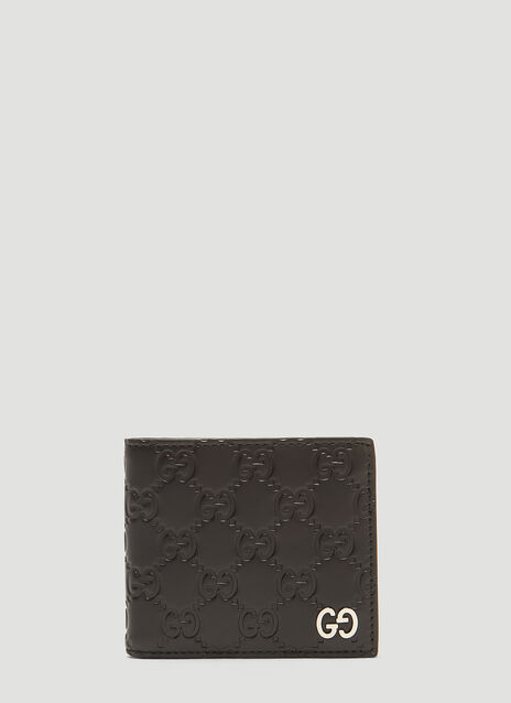 Gucci GG Bi-Fold Leather Wallet
