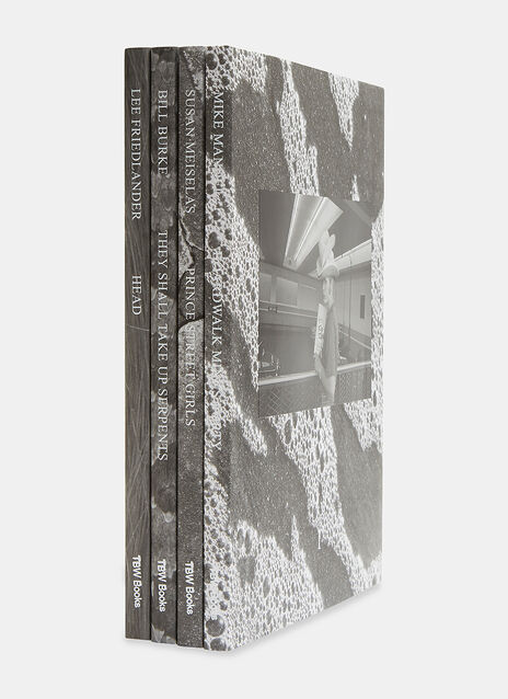 TBW BOOKS SERIES NO.5 (FOUR BOOK SET) by Mike Mandel, Susan Meiselas, Bill Burke, Lee Friedlander