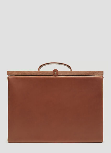 Eatable Of Many Orders Structured Briefcase Bag