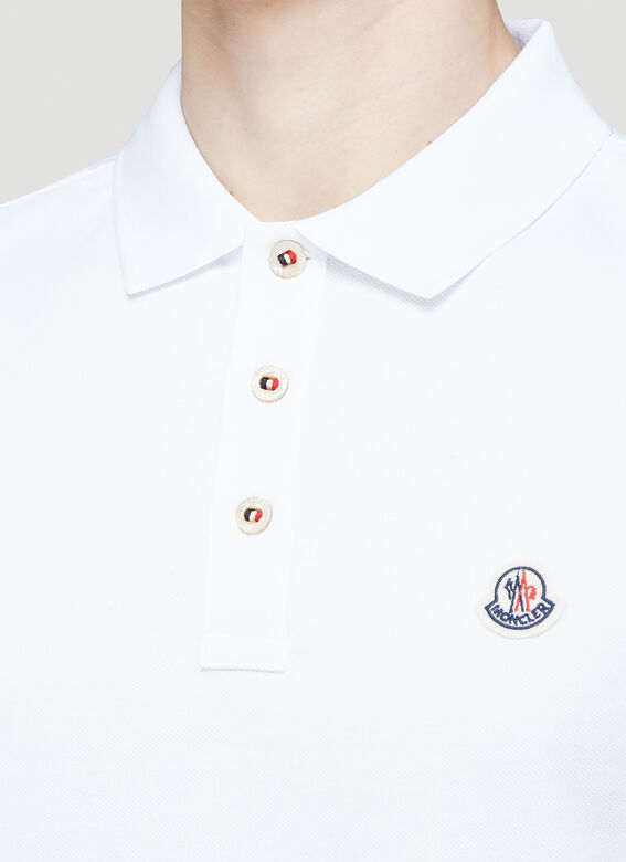 Moncler Short Sleeved Polo Shirt 5