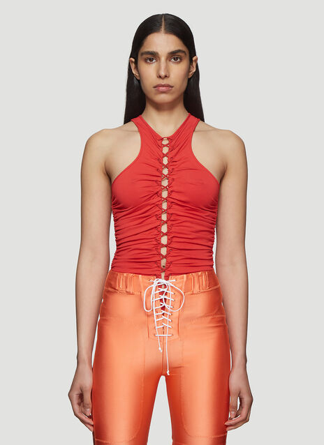 Unravel Project Lace-Up Racer Back Body