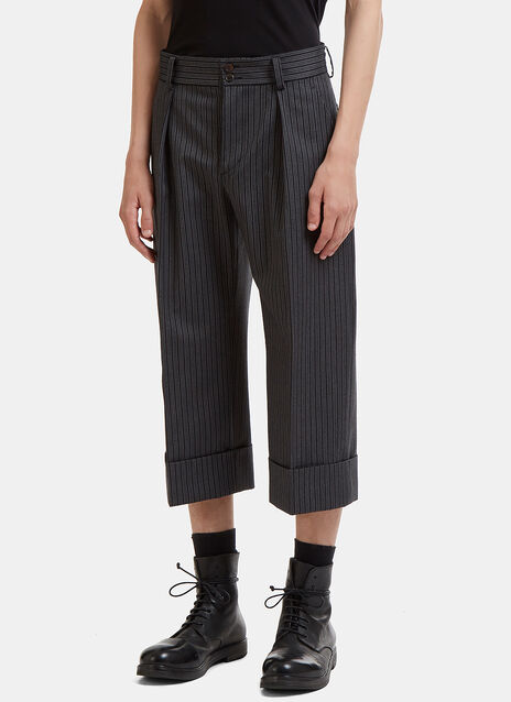 Peter Cropped Stripe Pants