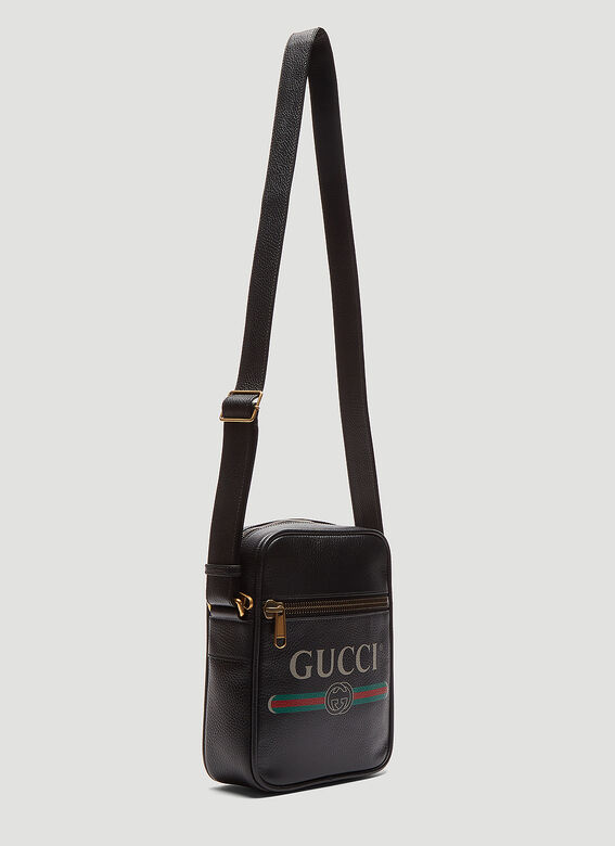 Gucci Gucci Print Messenger Bag