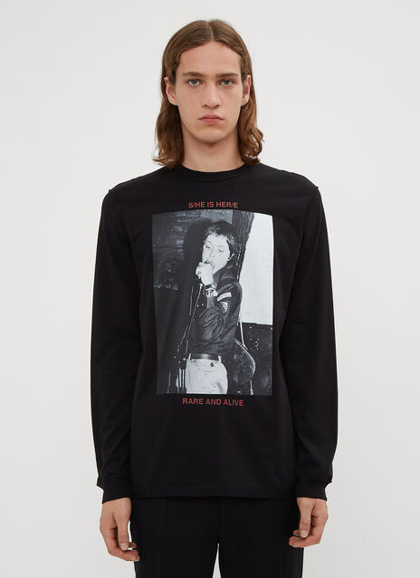 Yang Li Samizdat Hero Long Sleeve T-Shirt