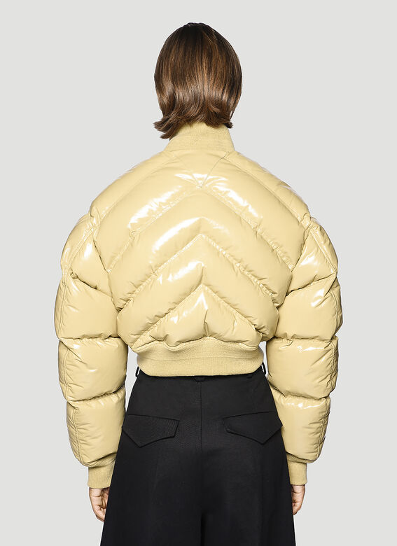 Bottega Veneta Leather Padded Jacket 3