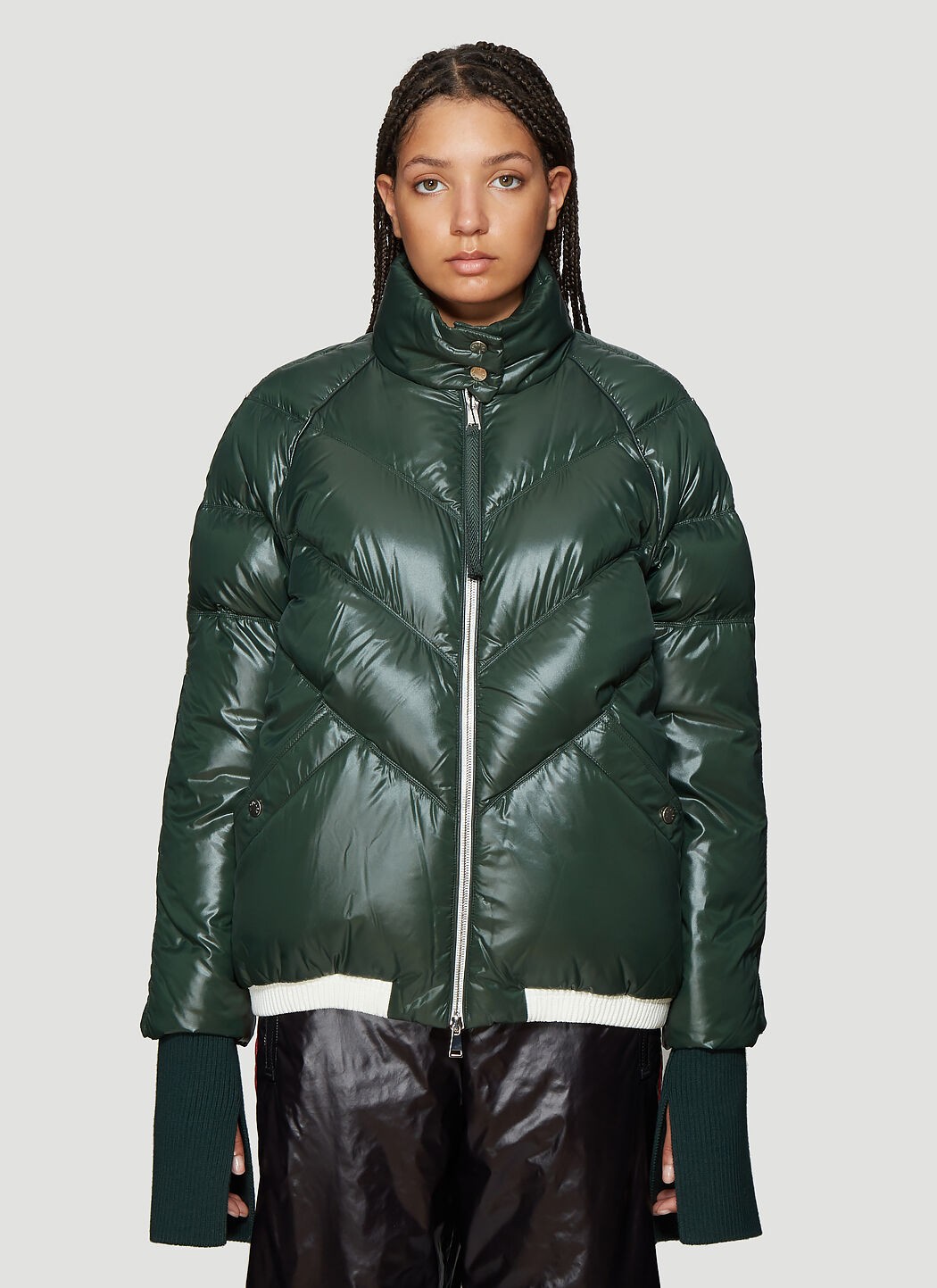 Moncler Genius 1952 Padded Down Jacket in Green | LN CC