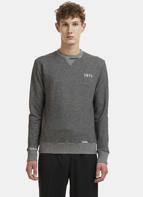Saint Laurent 1971 Crew Neck Jersey Sweater