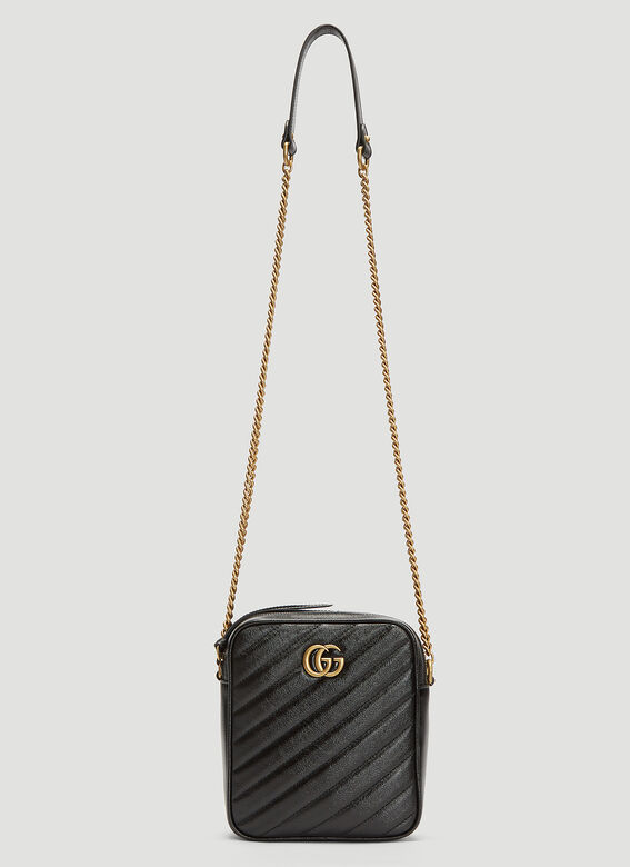 6f9d906bf Gucci GG Marmont Mini Shoulder Bag in Black | LN-CC