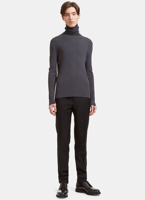 Aiezen AIEZEN Ribbed Polo Neck Sweater 2