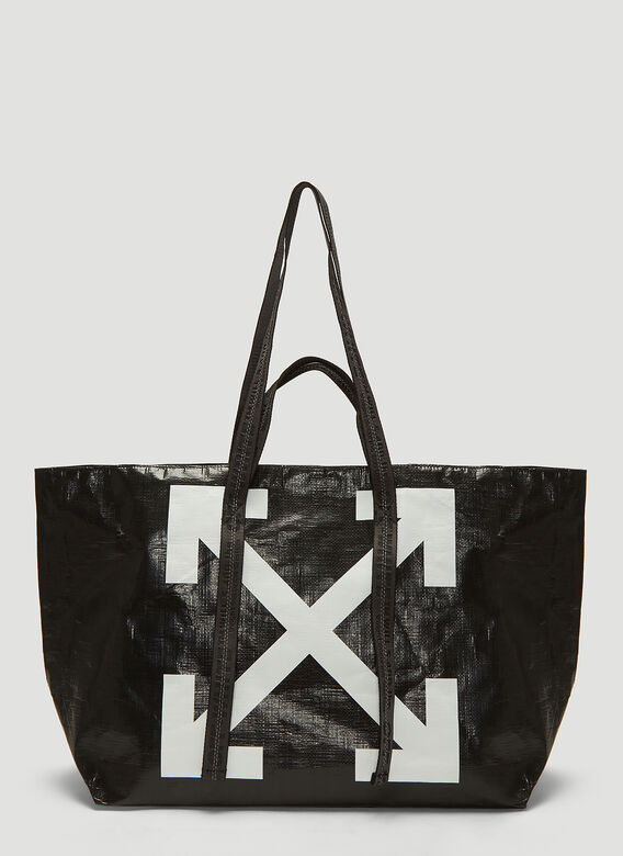 special discount of real quality finest fabrics Off-White Commercial Arrow Tote Bag in Black   LN-CC