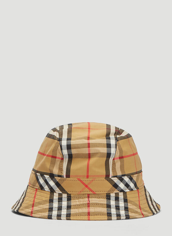 6f5760db Burberry Classic Check Bucket Hat in Brown | LN-CC