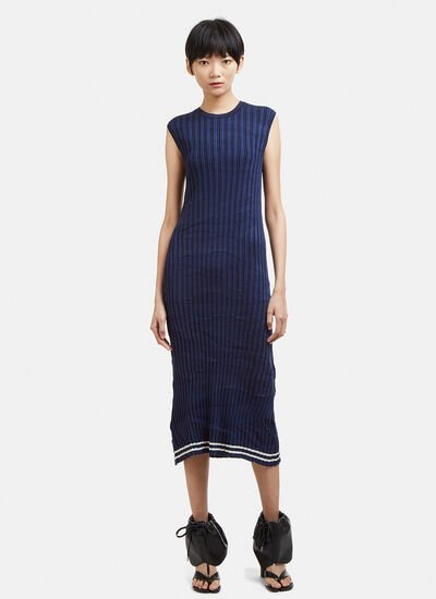 Maison Margiela Ribbed Sleeveless Dress