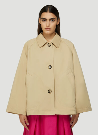 마르니 Marni Structured Jacket in Beige