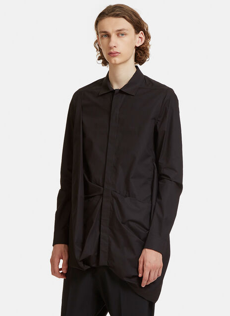 Rick Owens Smash Voluminous Long Shirt