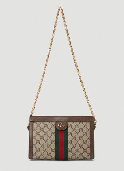 Gucci Ophidia GG Print Small Shoulder Bag