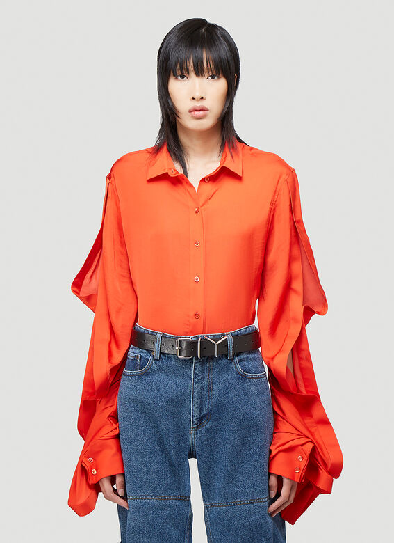 Y/Project RUFFLE SLEEVE SHIRT 1