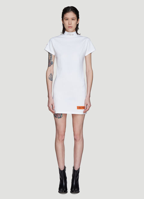 Heron Preston СТИЛЬ Turtleneck Dress