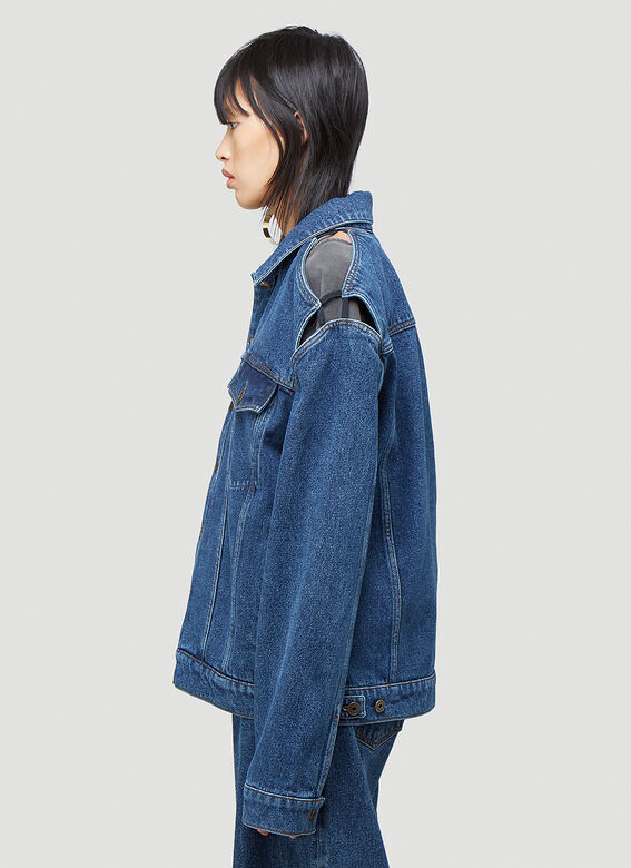 Y/Project CLASSIC PEEP SHOW DENIM JACKET 3