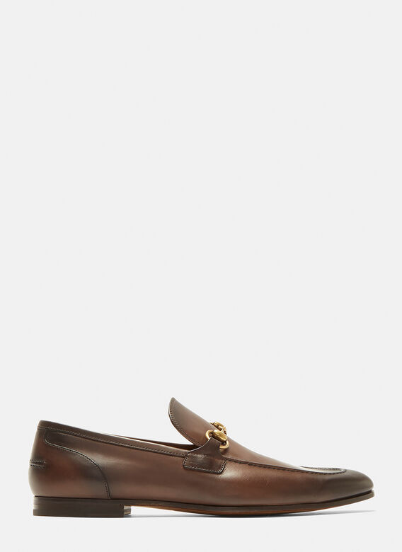 Gucci Jordaan Leather Loafers 1