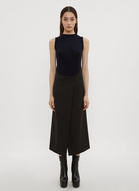 Atlein Apron Knit Dress