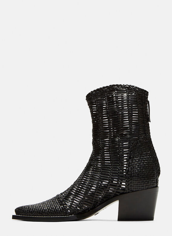 1017 ALYX 9SM Tex Woven Leather Boots