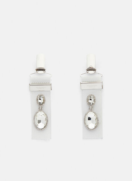 Vetements Suspender Earrings