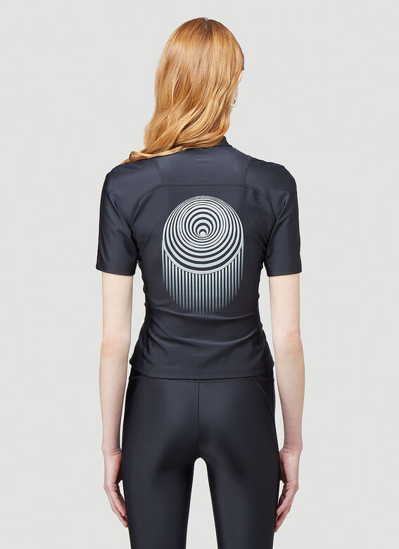 Marine Serre OPTIC MOON SEA-SKIN TRAINING TOP 4