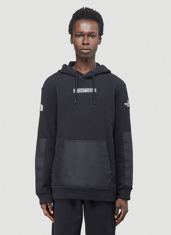 The North Face Black Series Contrast-Panel Hooded Sweatshirt 1