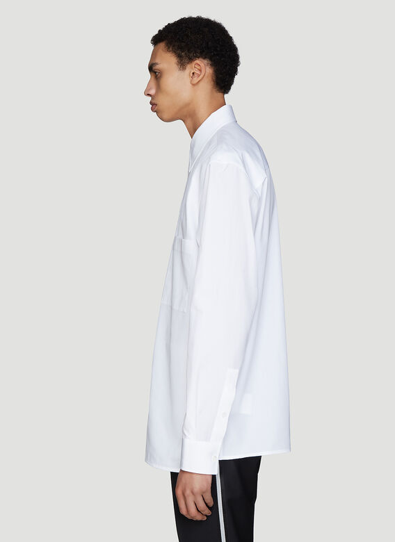 Valentino Constructed Layer Detail Shirt