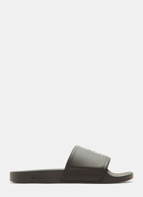 Y-3 Adilette Leather Slides
