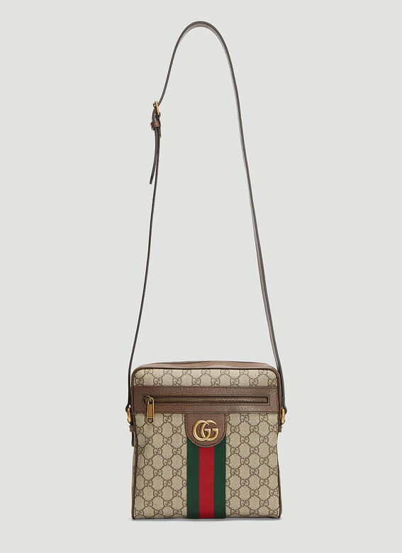 a0b6fb1ad Gucci Small Ophidia Messenger Bag in Beige | LN-CC
