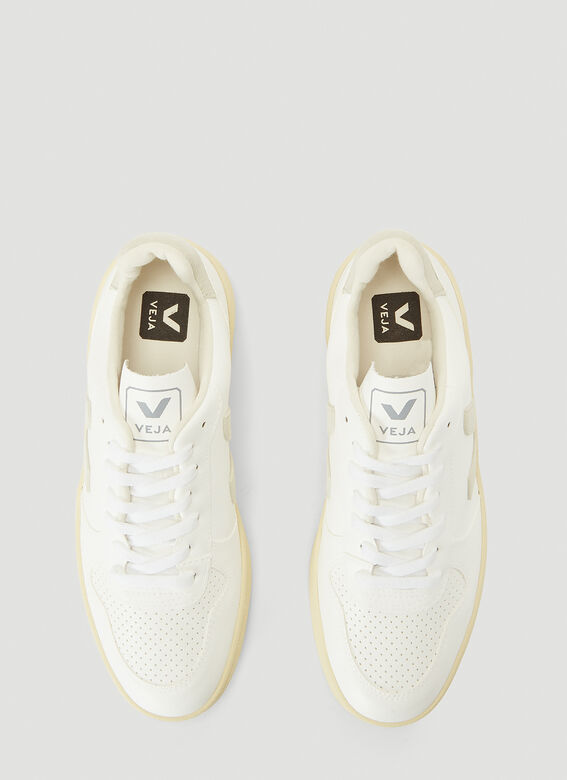 Veja V-10 WHITE_NATURAL_BUTTER-SOLE 2