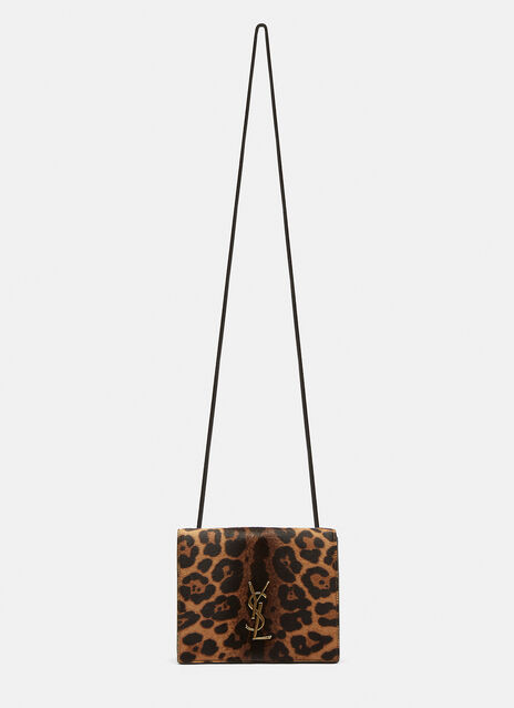 Saint Laurent Leopard Print Bag
