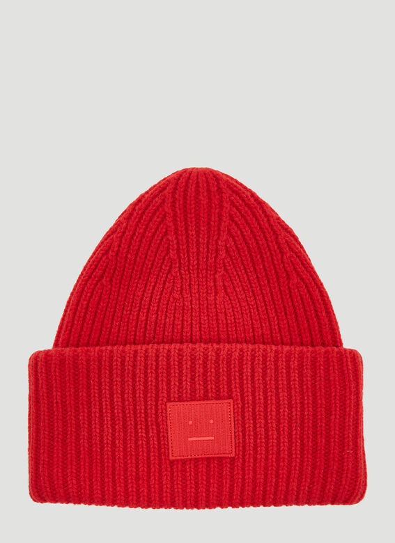 86b2191d Acne Studios Pansy Face Hat in Red | LN-CC