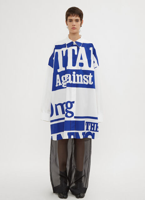 Maison Margiela Vitamin Oversized Shirt