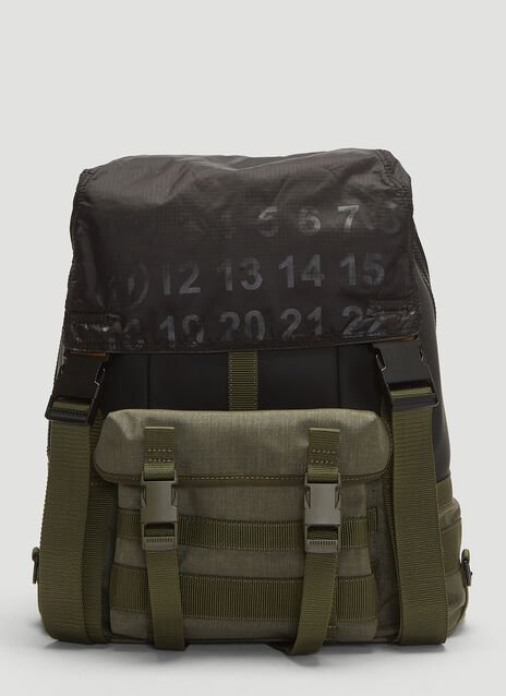 Maison Margiela Technical Numerical Backpack