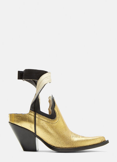 Maison Margiela Vegas Cut-Out Ankle Boots