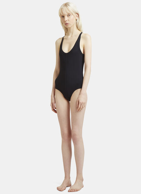 Rick Owens Cross Back Swimsuit