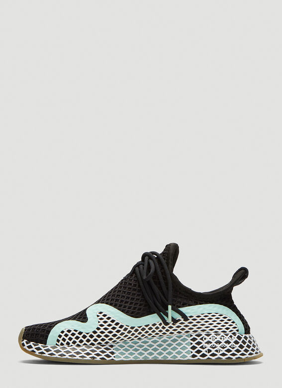 2137fab69a502 Adidas Deerupt S W Runner Shoes in Black