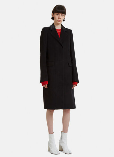 Maison Margiela Cut-Out Collar Coat