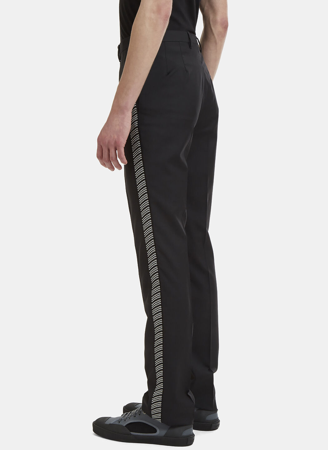Jacquard Side Pleat Tailored Pants Lanvin Quality Free Shipping For Sale Sale Big Sale Quality From China Wholesale Sale 100% Authentic Looking For Online g4CZPq