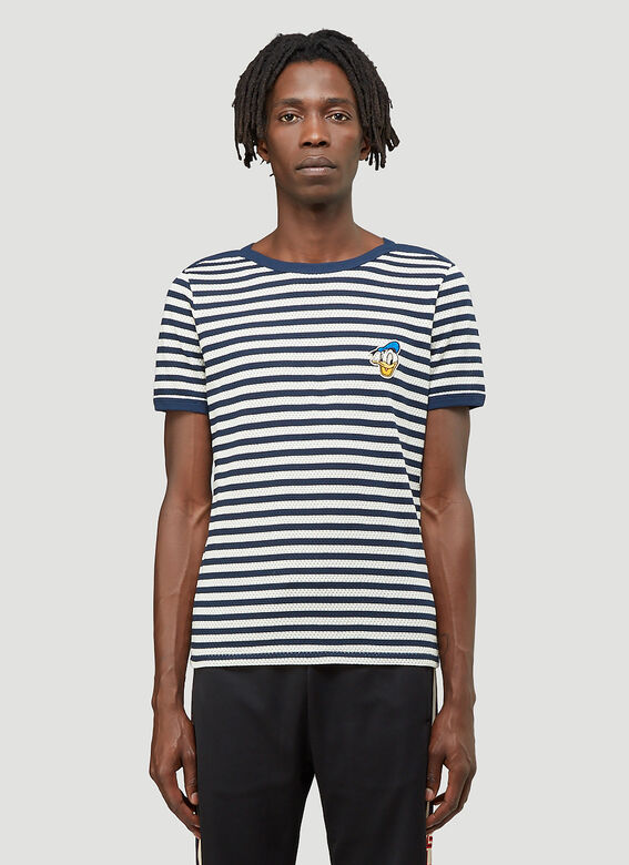 Gucci X Disney Striped T-Shirt 1