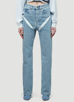Y/Project CLASSIC V CUT-OUT JEAN