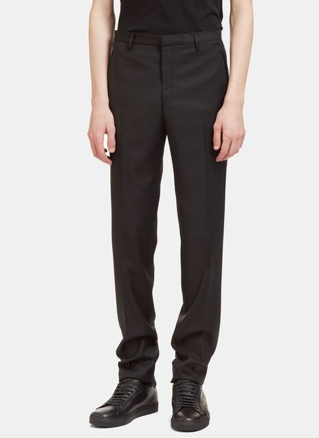Aiezen II Virgin Wool Slim Leg Tailored Pants