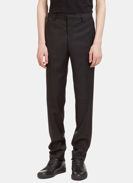 II Virgin Wool Slim Leg Tailored Pants